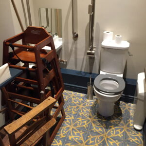 Common Problem is A Disabled Loo Used For Storage...Embarrassing Wait While It's Emptied