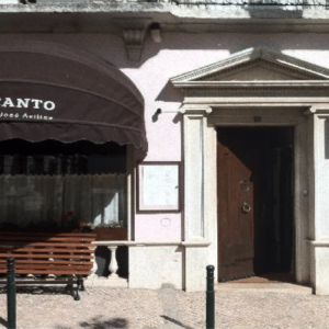 Entrance to Belcanto Has One Step