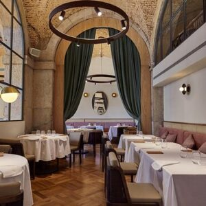 Belcanto Occupies an Old Convent With Fine Dining, 10 Tables & Smooth Parquet Flooring