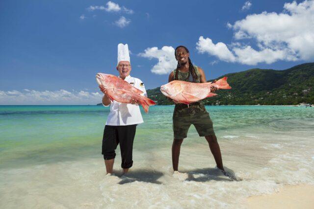 Seychelles Fish Are Huge