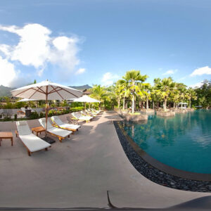 Infinity Pool at H Resort Looks Inviting , No Hoist Though