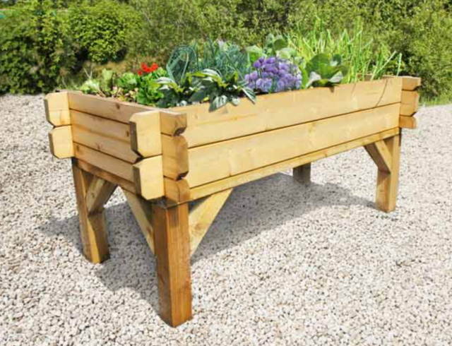 Raised Beds or Containers Provide Good Access to Planting